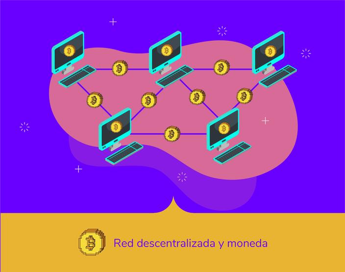 Bitcoin es una red descentralizada sin intermediarios